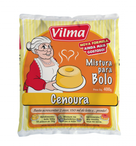 Mistura para bolo – Cenoura 400g