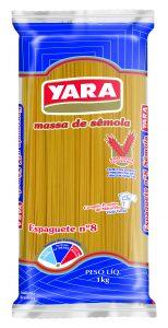Massa de Sêmola Espaguete Nº 8 Yara