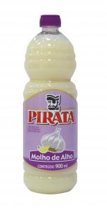Molho de Alho 900 ml Pirata