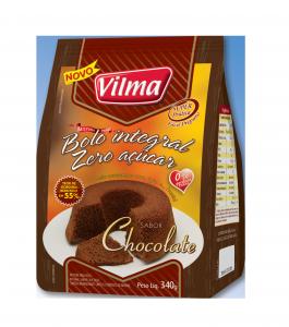 Bolo Integral Zero Açúcar – Chocolate