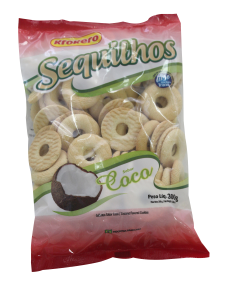 Biscoito Sequilhos Coco – 300g