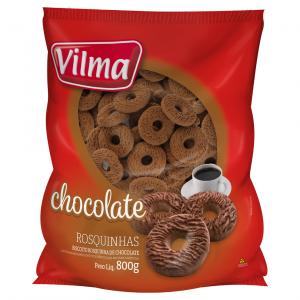 Biscoito Rosquinha de Chocolate 800g