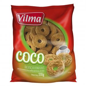 Biscoito Rosquinha de Coco 330g