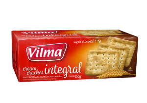 Biscoito Cream Cracker Integral  150g