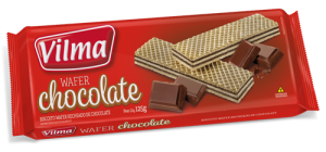 Biscoito Wafer Chocolate