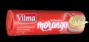 Biscoito Recheado de Morango