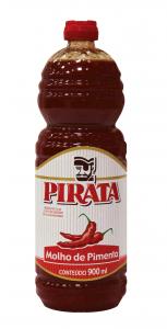 Molho de Pimenta 900ml Pirata