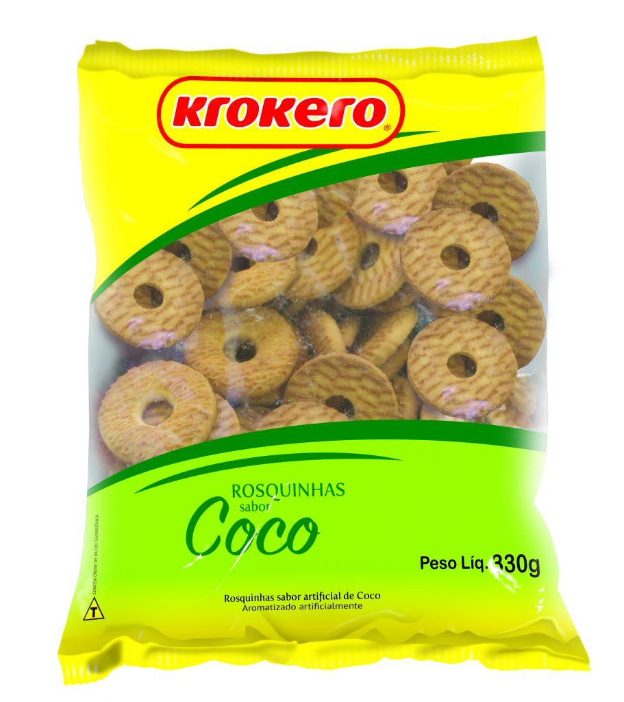 Rosquinhas Coco 330g Krokero