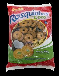 rosquinha sabor coco – 800g