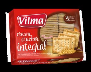 Biscoito Cream Cracker Integral 400g