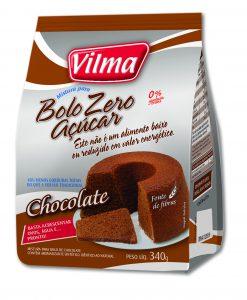 Bolo Zero Açúcar – Chocolate
