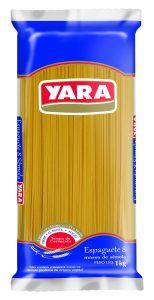 Massa de Sêmola Espaguete Nº 8 Yara – 1kg