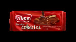 Biscoitos Cobertos –  Chocolate