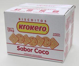 Biscoito Sortido Coco 1,5 kg