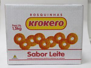 Biscoito Rosquinha Leite 1,5 kg