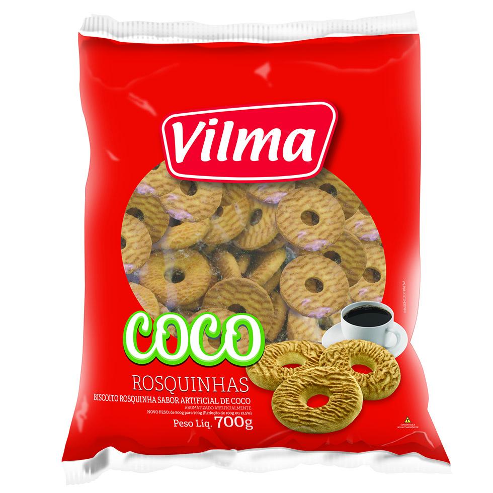 411819 - Rosquinhas 700g Coco Vilma